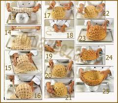 صورة طريقة رائعة لعمل سله لتوزيع الفطائر
