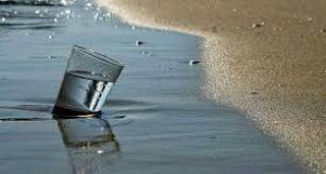صورة الاغتسال بماء البحر يشفي من المس والسحر والعين باذن الله تعالى
